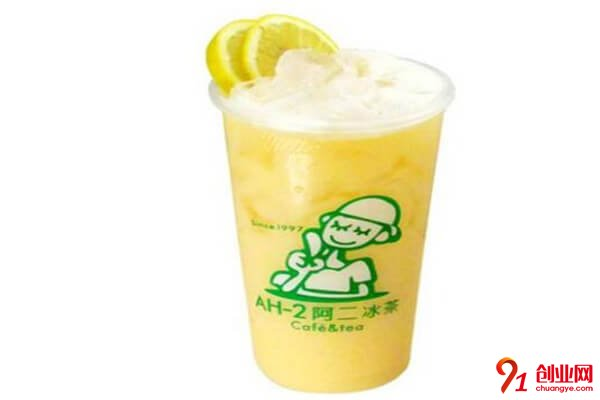 阿二奶茶加盟品牌介绍