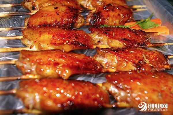 七公江湖烤翅加盟条件