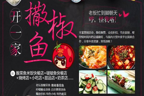 撒椒鱼酸菜鱼米饭