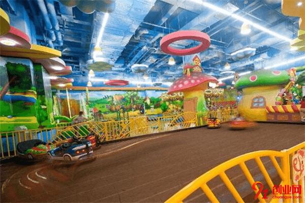 奔跑吧儿童乐园加盟品牌介绍