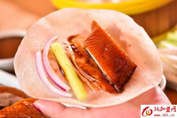 鸭主播烤鸭卷饼加盟条件
